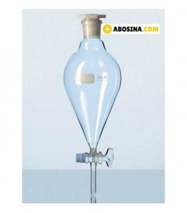 قیف دکانتور شیر شیشه ای 150