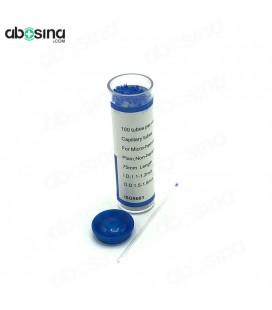 لوله هماتوکریت شیشه ای آبی
