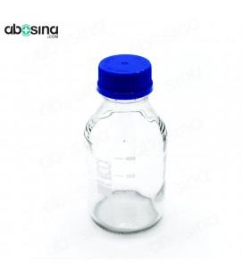 بطری در پیچ دار آبی 500ml