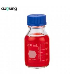 بطری در پیچ دار آبی 250ml