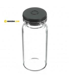 شیشه پنی سیلین با درب طوسی