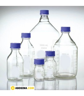 بطری در پیچ دار آبی 2000ml